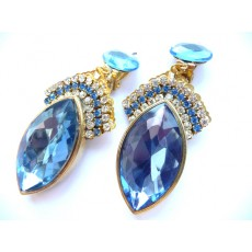Blue Earrings, Wedding Earrings, Bridal Earrings, Something Blue,
